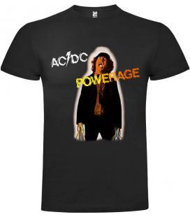 AC/DC Powerage Camiseta Manga Corta Bandas