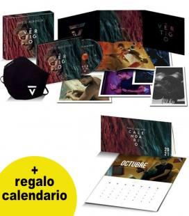 Vértigo (Box 1 CD Digipack+10 Postales y mascarilla) Regalo Calendario