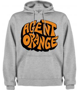 Agent Orange Logo Sudadera con capucha y bolsillo