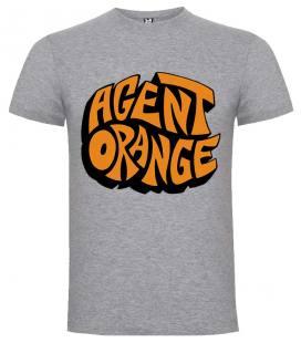 Agent Orange Logo Camiseta Manga Corta Bandas