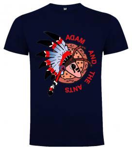 Adam & The Ants Logo Camiseta Manga Corta Bandas