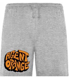 Agent Orange Logo Bermudas