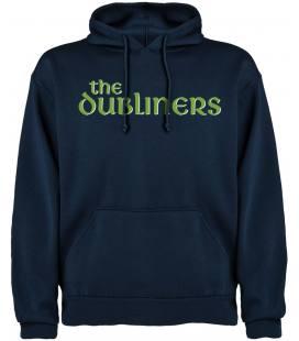 The Dubliners Logo Sudadera con capucha y bolsillo