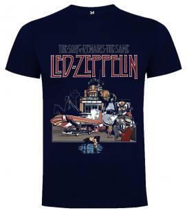 Led Zeppelin The Song Remains the Same Camiseta Manga Corta Bandas