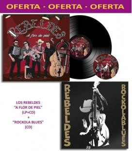 Pack A Flor de Piel(LP+CD)+Rock Ola Blues (CD)