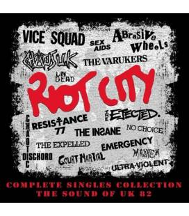Riot City - Complete Singles Collection (4 CD)