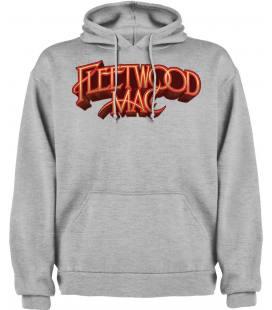 Fleetwood Mac Logo Sudadera con capucha y bolsillo