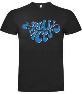 Small Faces Logo Camiseta Manga Corta Bandas