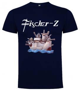 Fischer-Z Destination Paradise Camiseta Manga Corta Bandas