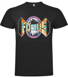 Focus Logo Camiseta Manga Corta Bandas