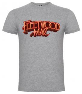 Fleetwood Mac Logo Camiseta Manga Corta Bandas