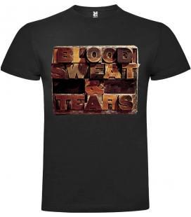 Blood Sweat & Tears Logo Camiseta Manga Corta Bandas