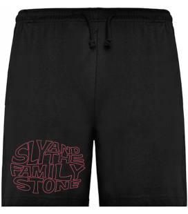 Sly & The Family Stone Logo Bermudas