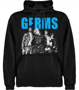 Germs Band Sudadera con capucha y bolsillo