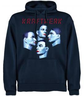 Kraftwerk Music Non Stop Sudadera con capucha y bolsillo