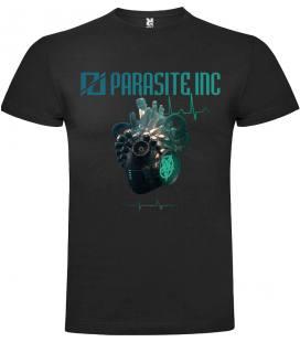 Parasite Inc. Dead and Alive Camiseta Manga Corta Bandas
