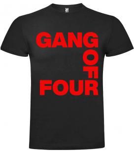 Gang Of Four Logo Camiseta Manga Corta Bandas