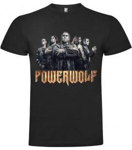 Powerwolf Band Camiseta Manga Corta Bandas