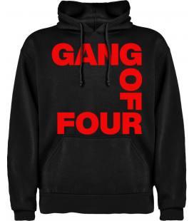 Gang Of Four Logo Sudadera con capucha y bolsillo
