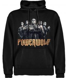 Powerwolf Band Sudadera con capucha y bolsillo
