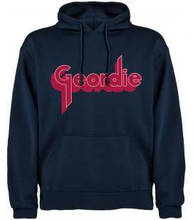 Geordie Logo Sudadera con capucha y bolsillo