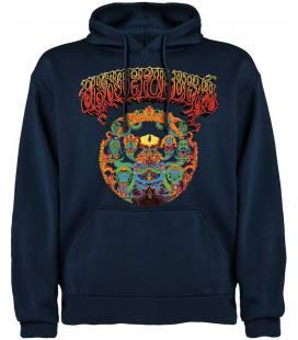 Grateful Dead Logo Sudadera con capucha y bolsillo