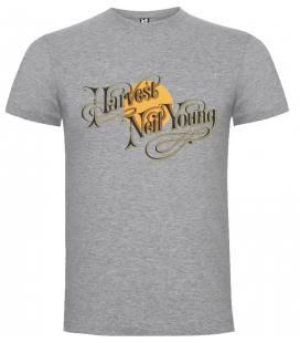 Neil Young Harvest Camiseta Manga Corta - Talla S
