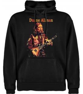 Duane Allman Guitar Sudadera con capucha y bolsillo