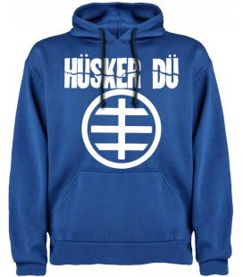 Husker Du Logo Sudadera con capucha y bolsillo