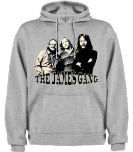 The James Gang Band Sudadera con capucha y bolsillo