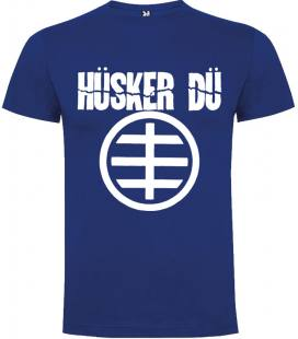 Husker Du Logo Camiseta Manga Corta Bandas
