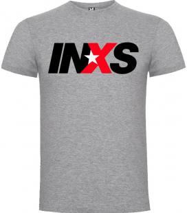 Inxs Logo Camiseta Manga Corta Bandas