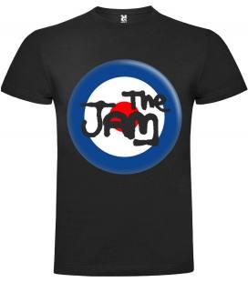 The Jam Logo Circle Camiseta Manga Corta Bandas