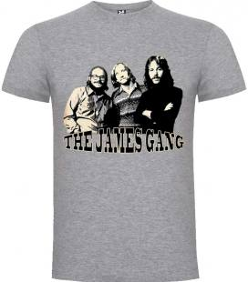 The James Gang Band Camiseta Manga Corta Bandas