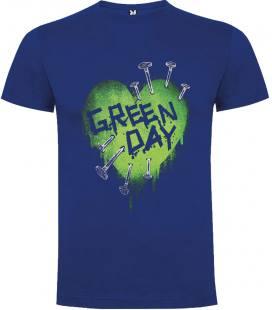 Green Day Cloves Camiseta Manga Corta Bandas