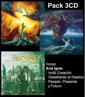 "Pack Discografía ""Aria Ignis"" (3 CD)"