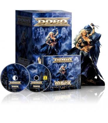 Warlock - Triumph And Agony (Box CD, Blu Ray Digipack y Figura Edición Ltd)