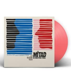 """La Mitad De Nuestras Vidas (1 EP 12"""" Rosa)"""