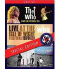Live In Texas+Live At The Iow W-3 DVD