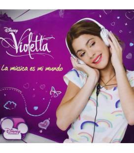 Violetta, La Musica Es Mi Mundo-2 CD