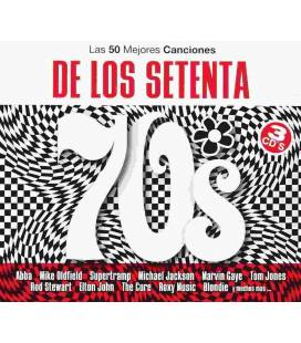 50 Mejores De Los 70-3 CD