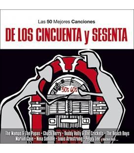 50 Mejores De Los 50 Y 60-3 CD