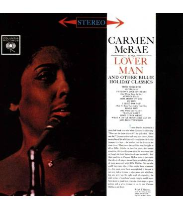Carmen Mcrae Sings Lover Man And Other Billie Holiday Classics. Jazz Connoisseur-1 CD