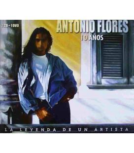 10 Años (Cristal)(La Leyenda De Un...)-2 CD+1 DVD