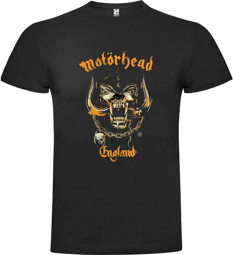 Motorhead England Yellow. Camiseta