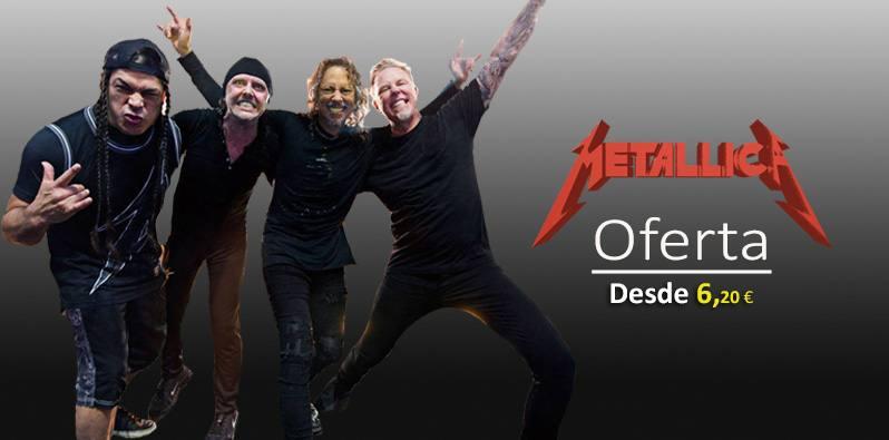 Metallica. Discografía en oferta