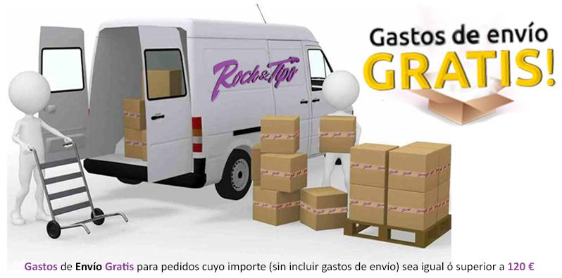Gastos de envío gratis a partir de 120€