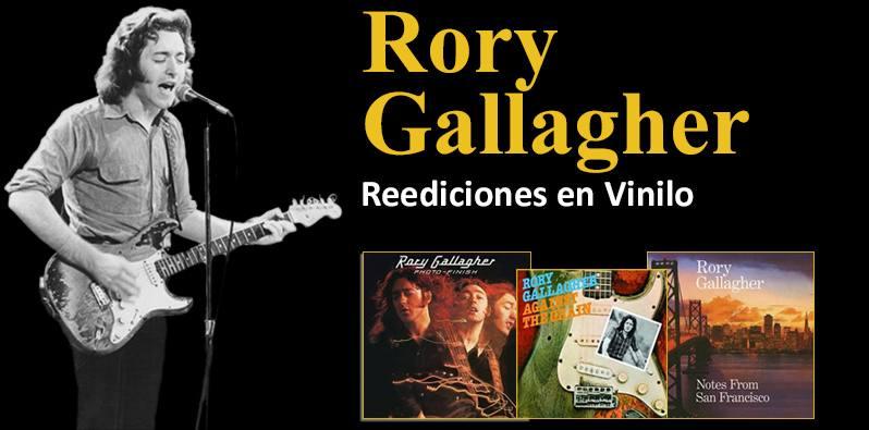 Rory Gallagher. Reediciones en Vinilo