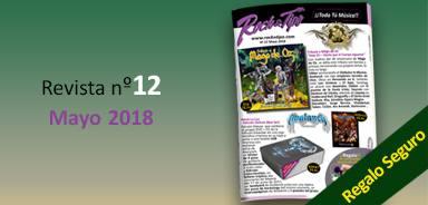Revista nº12 Mayo 2018. Toda la información de tu tienda de música