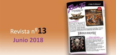 Revista nº13 Junio 2018. Toda la información de tu tienda de música